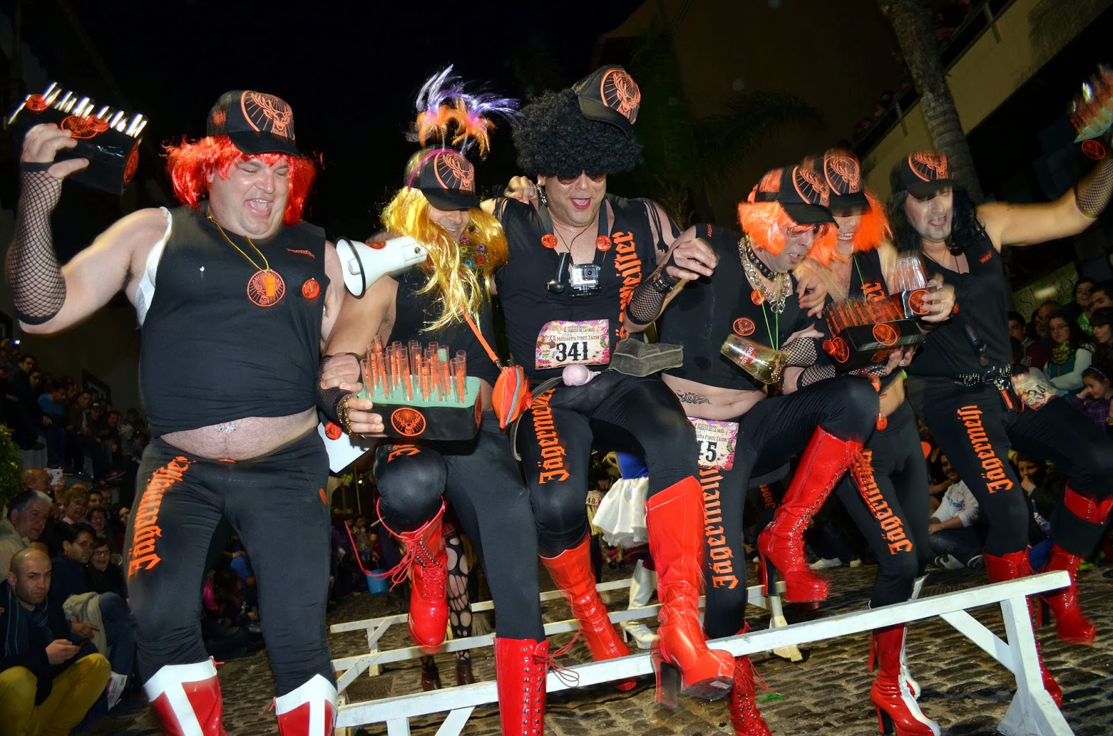 carrera tacones carnaval tenerife
